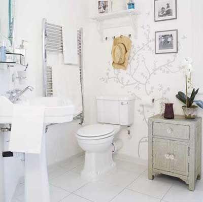 ideas para decorar un cuarto de bao pequeo - Como Decorar Un Cuarto De Bao