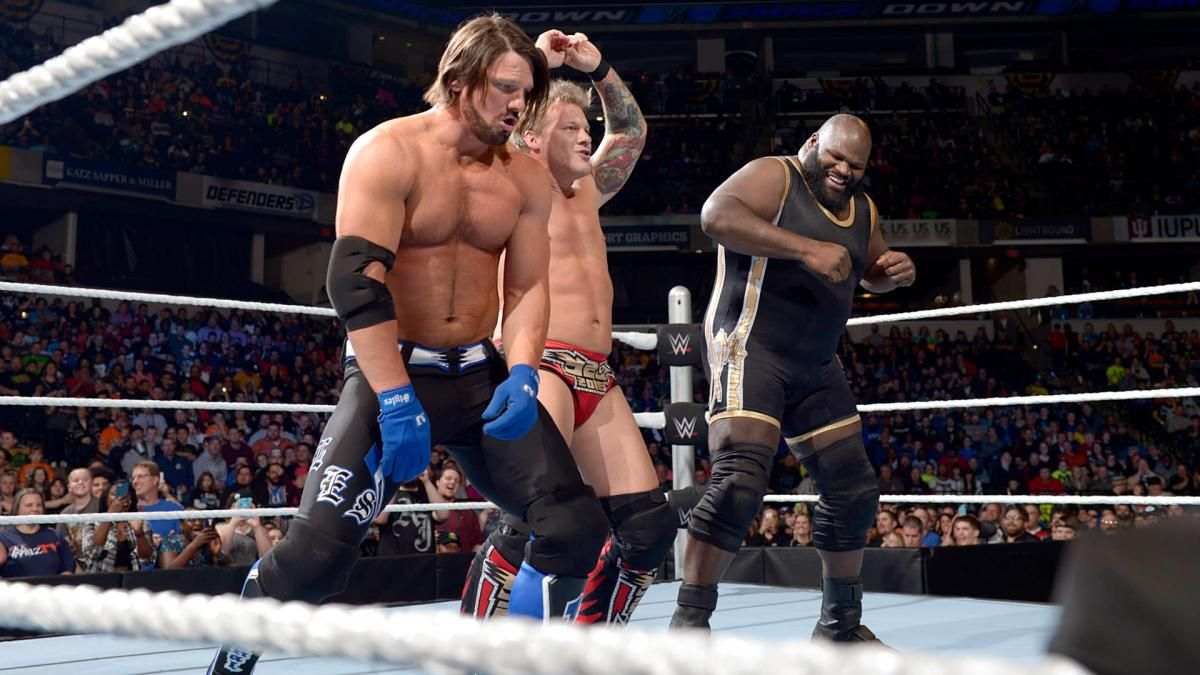 Image result for y2aj and mark henry