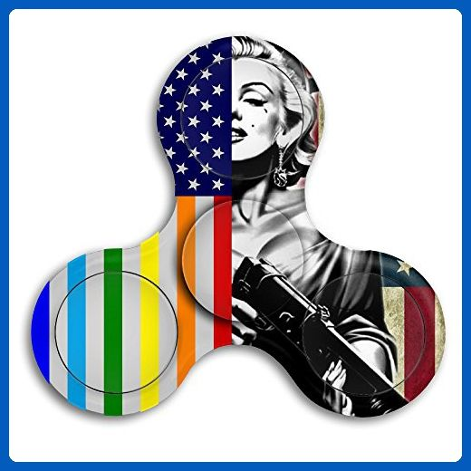 US LGBT Flag Hand Fid Spinner Toy Fid Spinner Prime Finger