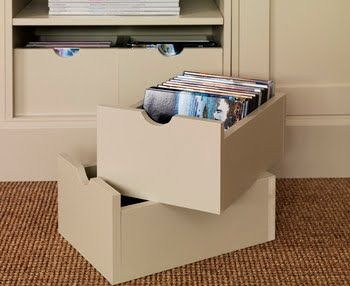 Vinyl Record Storage Ideas Decorative Storage Boxes Storage Boxes Storage