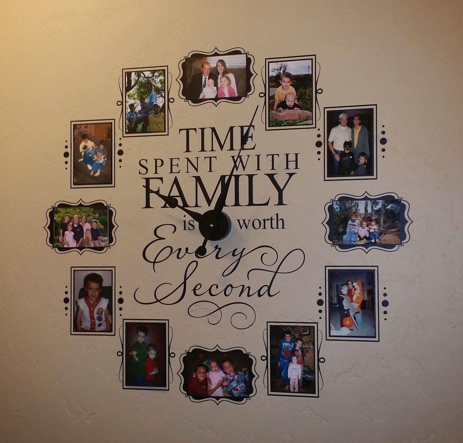 Vinyl  Decor Coupon Code For Time Spent With Family Vinyl Wall - Custom vinyl wall decals groupon