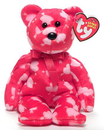 Cupid s Bow - Bear - Ty Beanie Babies  6d79ca5aa11