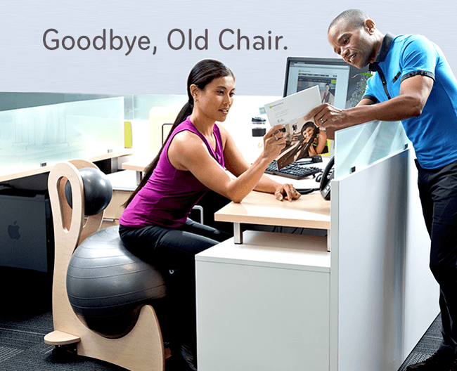 Goodbye, Old Chair!