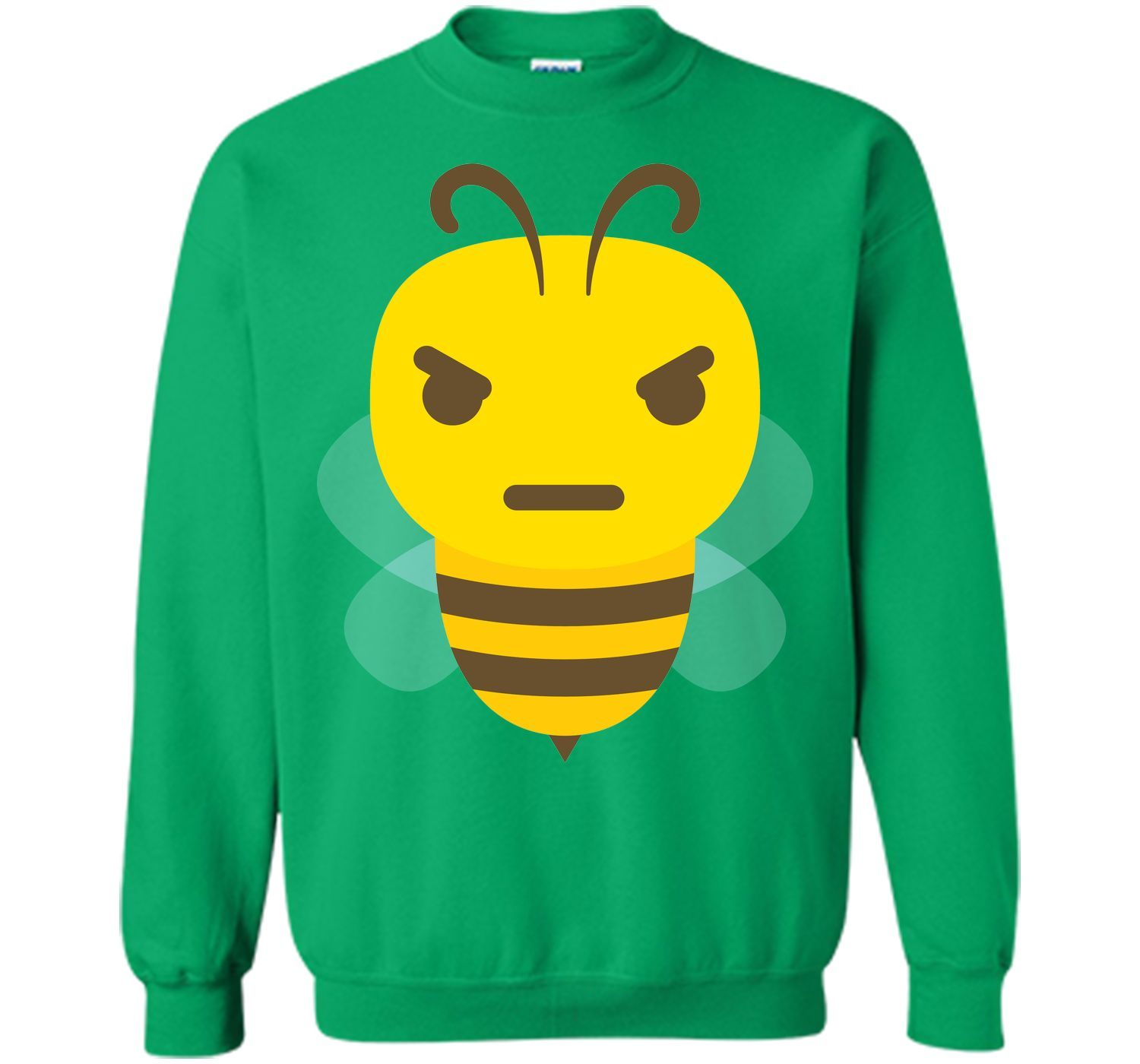 Bee Emoji Angry and Mean Look T-Shirt | Products