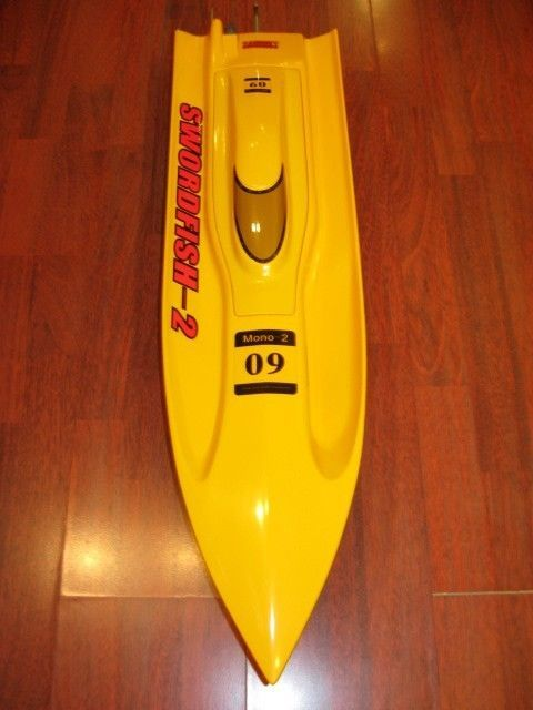 31 inches Thunder EP Fibreglass Mono 2 Kit Racing Boat | RC Boat