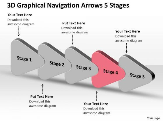 3d graphical navigation arrows 5 stages ppt flow chart business plan 3d graphical navigation arrows 5 stages ppt flow chart business plan powerpoint slides accmission