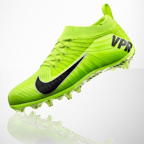 Nike combines Flyknit and 3D-printing for American football boots. Mens  Football CleatsSoccer ...