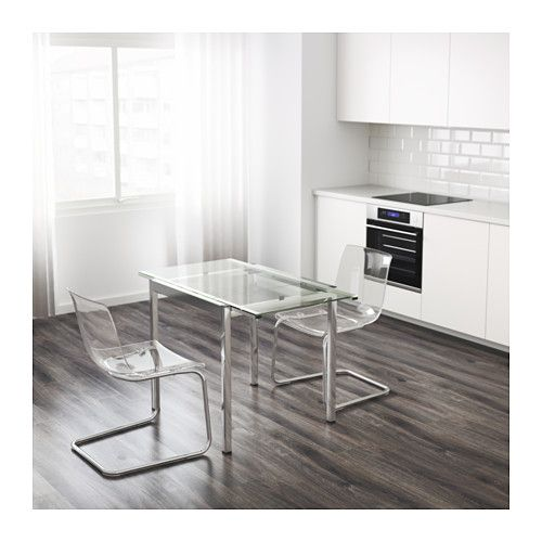Glivarp Mesa Extensible  Ikea  Cocinas  Nuevo  Pinterest Entrancing Ikea Glass Dining Room Table Decorating Design