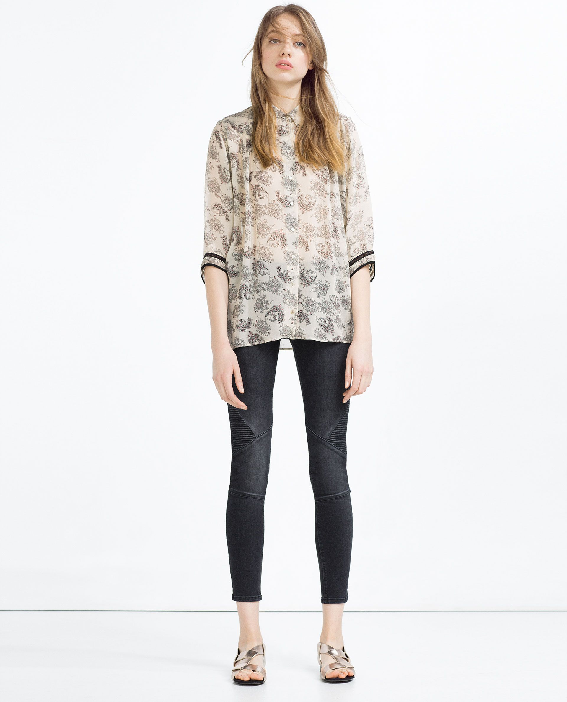 FAUX LEATHER JACKET View All LEATHER WOMAN ZARA Canada