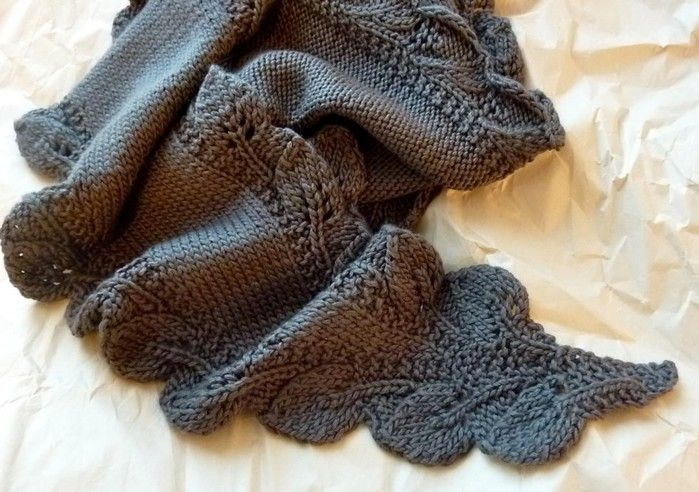 Border with Leaves | Scarves, Sweaters, and Wraps | Pinterest | Chal ...