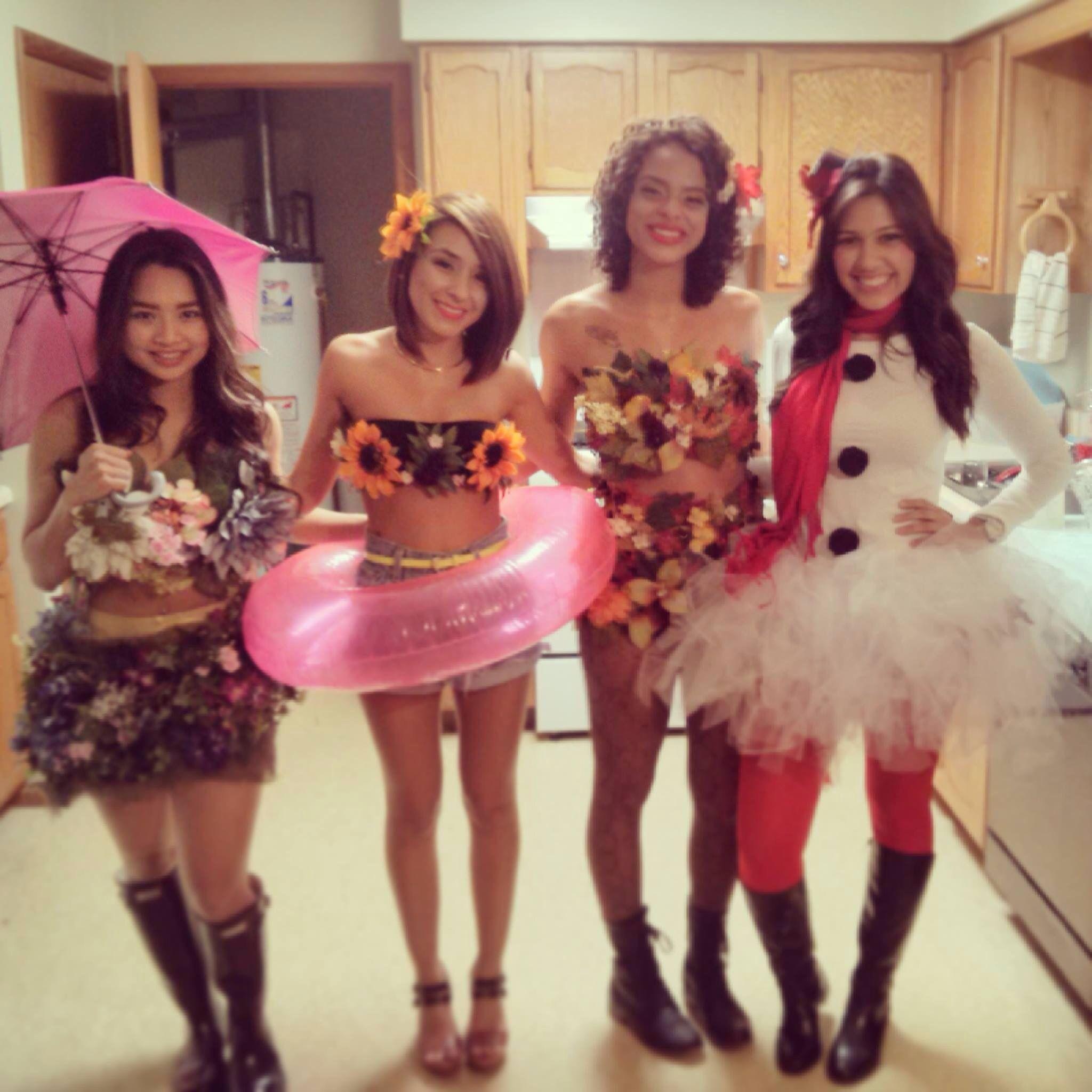 four seasons diy costume … | halloween costumes | pinte…