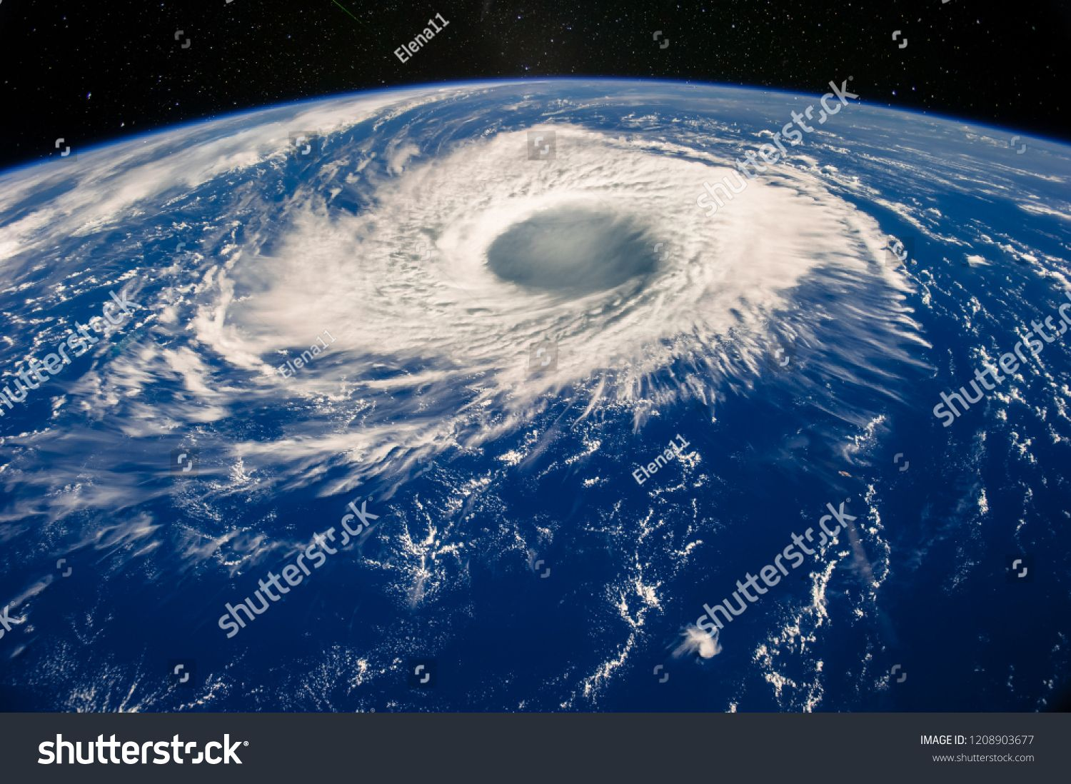 Hurricane Eye On Earth Viewed From Space Satellite View Elements Of This Image Furnished By Nasa Typhoon Nab Climate Change Earth View Earth View From Space