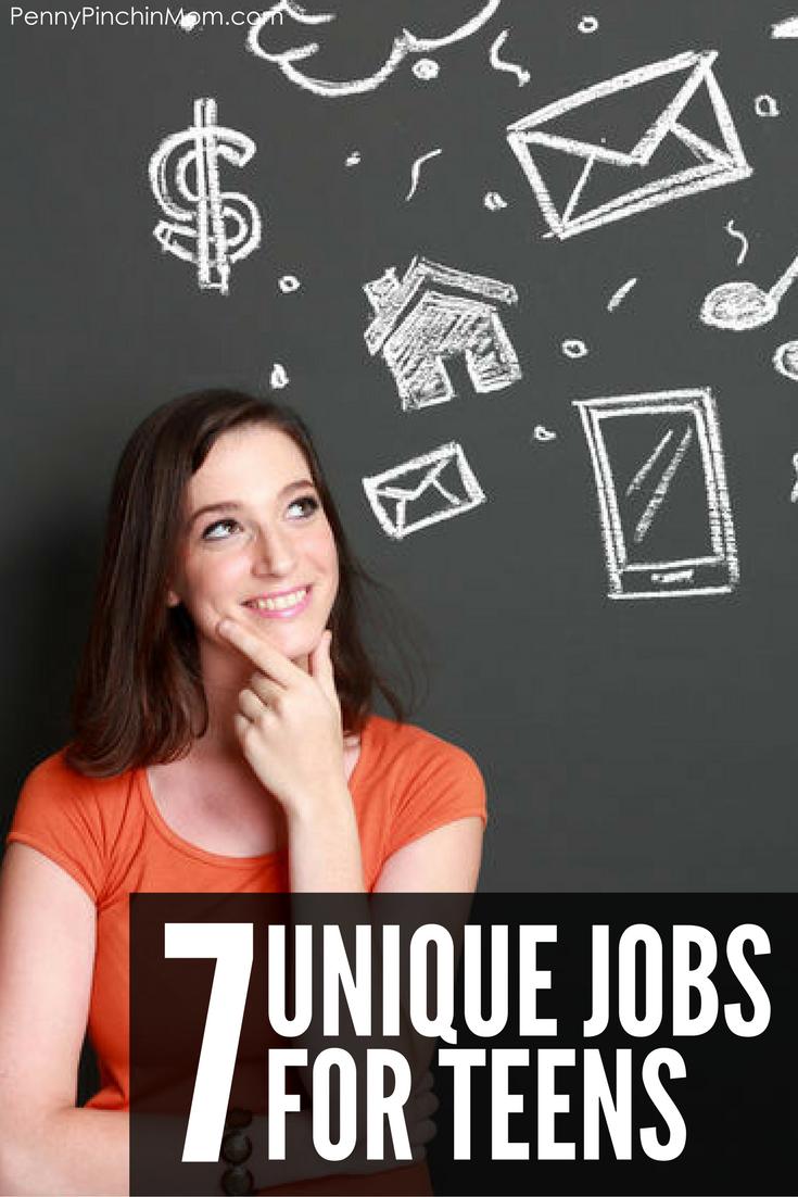 summer job ideas for your teenager | frugal living | pinterest