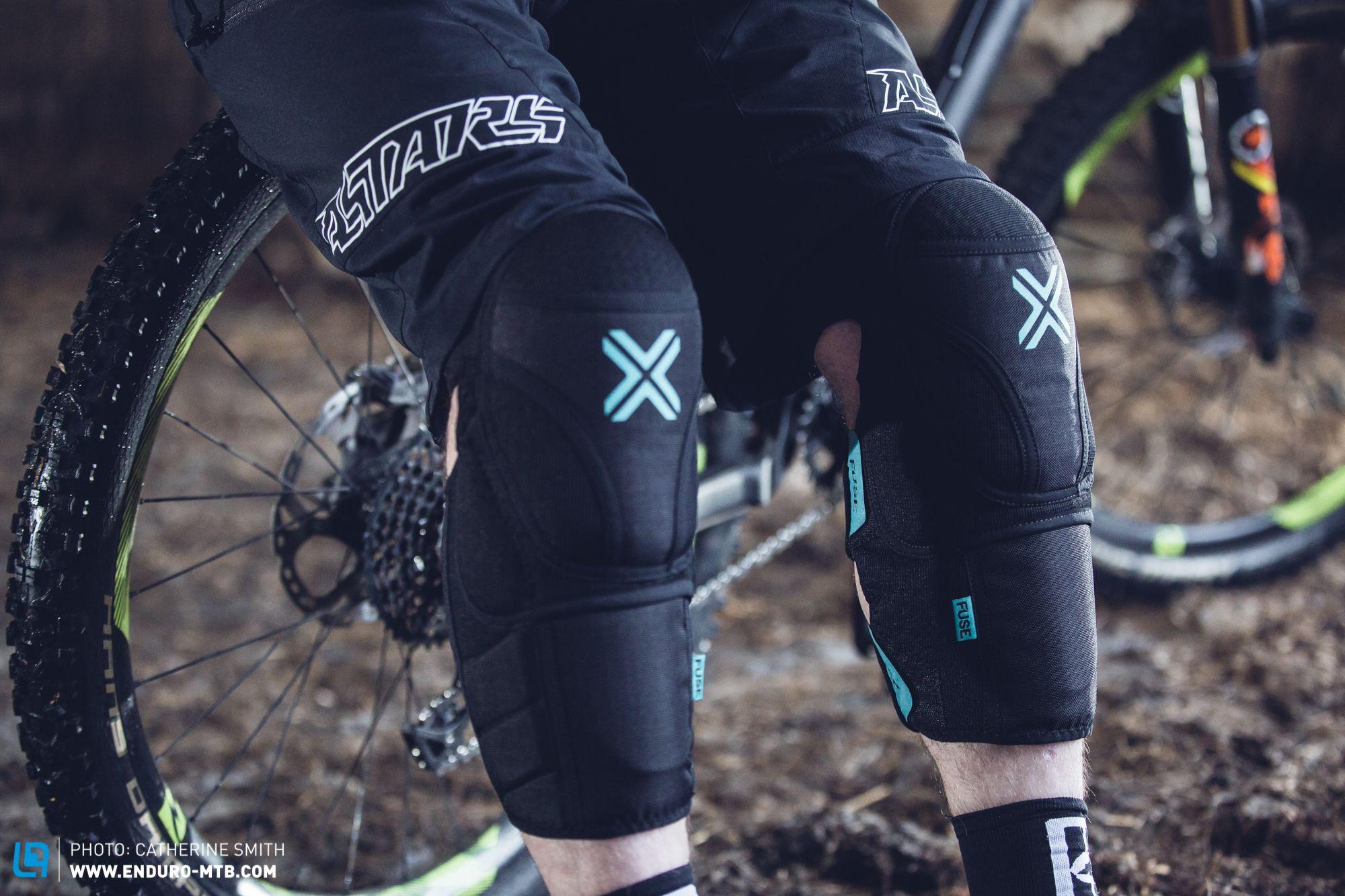 FUSE ECHO 75 KNEE SHIN   ELBOW PADS REVIEW Mountain Biking ccd6d1ffd