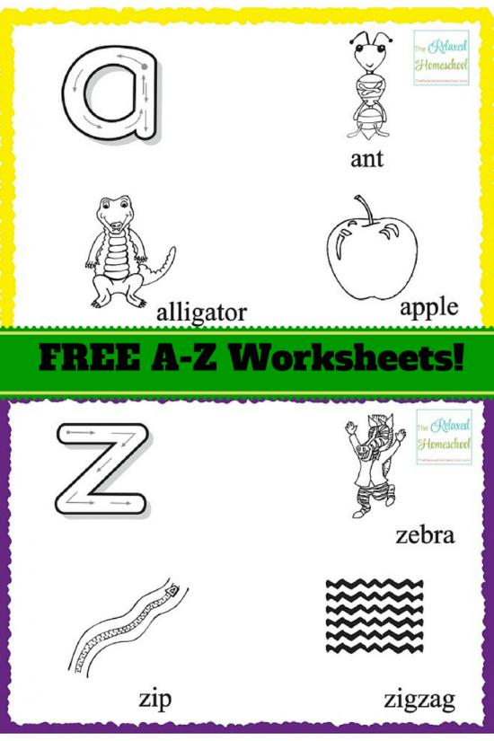 Free Printable Alphabet Worksheets for preschoolers Kindergarten – Free Printable Abc Worksheets