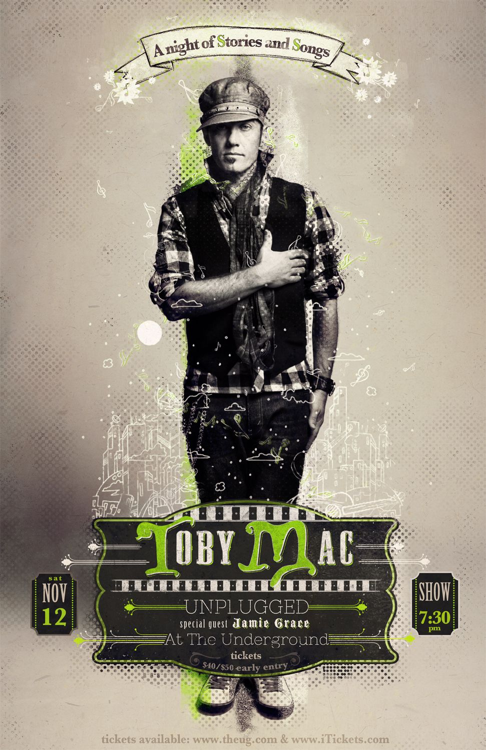For my internship, toby mac poster. Recent Work
