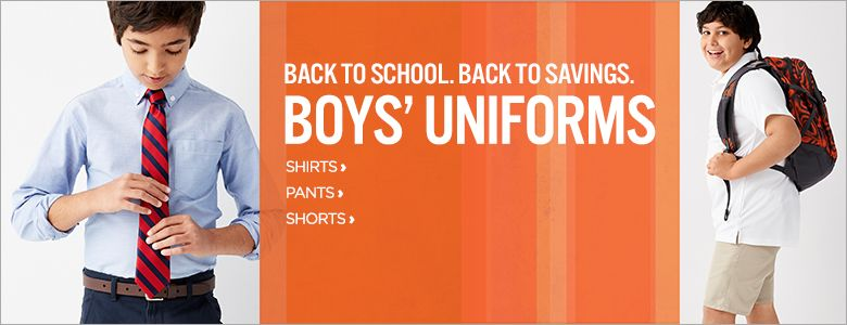 44c96ded Boys School Uniforms: Shop Polos, Boys Dress Pants, Jackets & Oxford Shirts  - JCPenney
