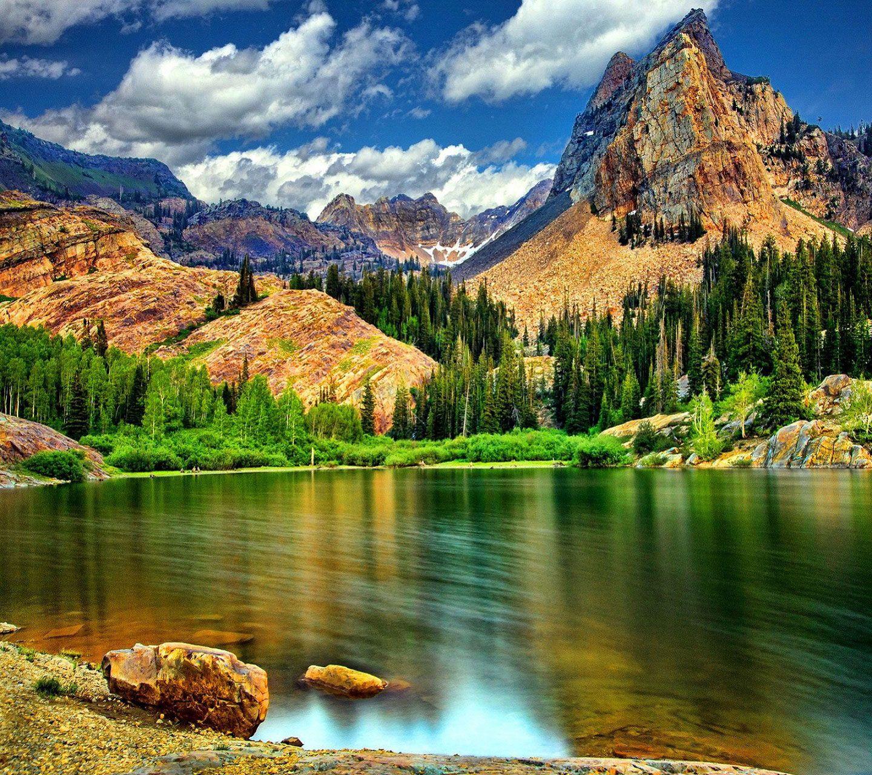 Beautiful Mountain Scene But It Is Beautiful Because All