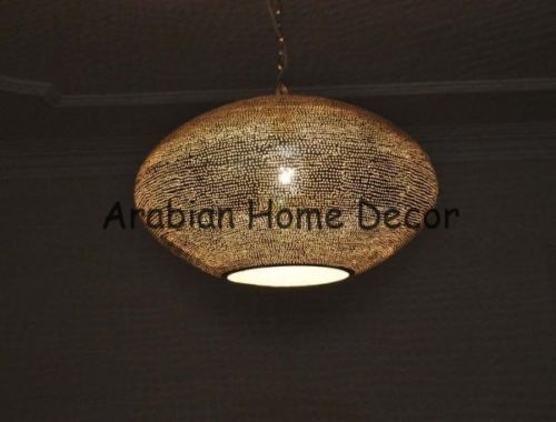 Handcrafted-Moroccan-Silver-Plated-Brass-16-Wide-Hanging-Lamp-Lighting