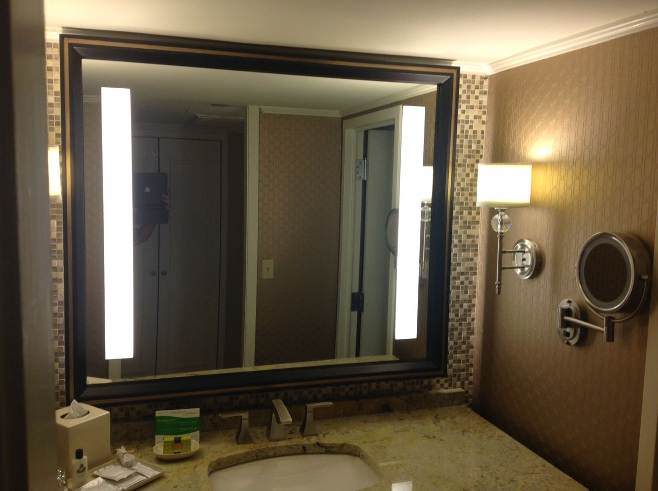 Custom Mirror Made For The Intercontinental Hotel By The Howard