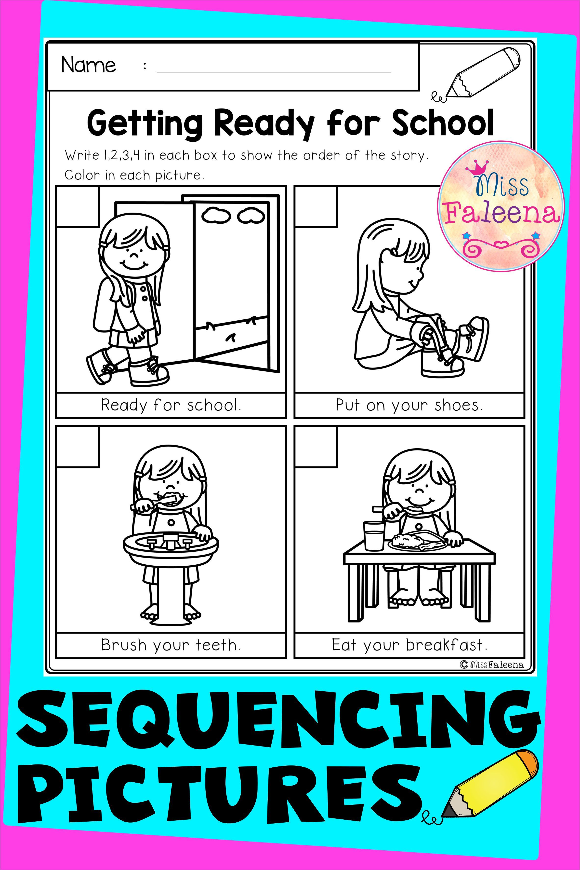 Sequencing Pictures Di