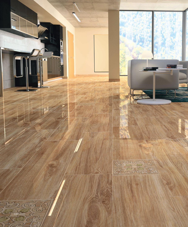 Living room tile  floor  porcelain stoneware  damask