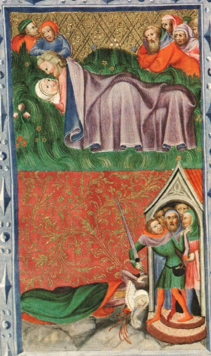 Wenceslaus IV of Bohemia's Bible part IV: 21/62 (14th c)