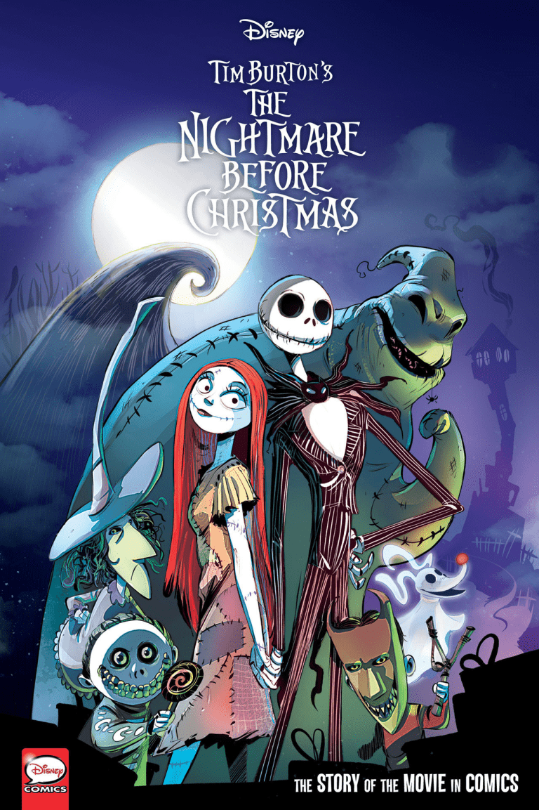 Nightmare Before Christmas Is Getting Retold In A New Graphic Novel In 2020 Nightmare Before Christmas Pictures Nightmare Before Christmas Drawings Nightmare Before Christmas Book