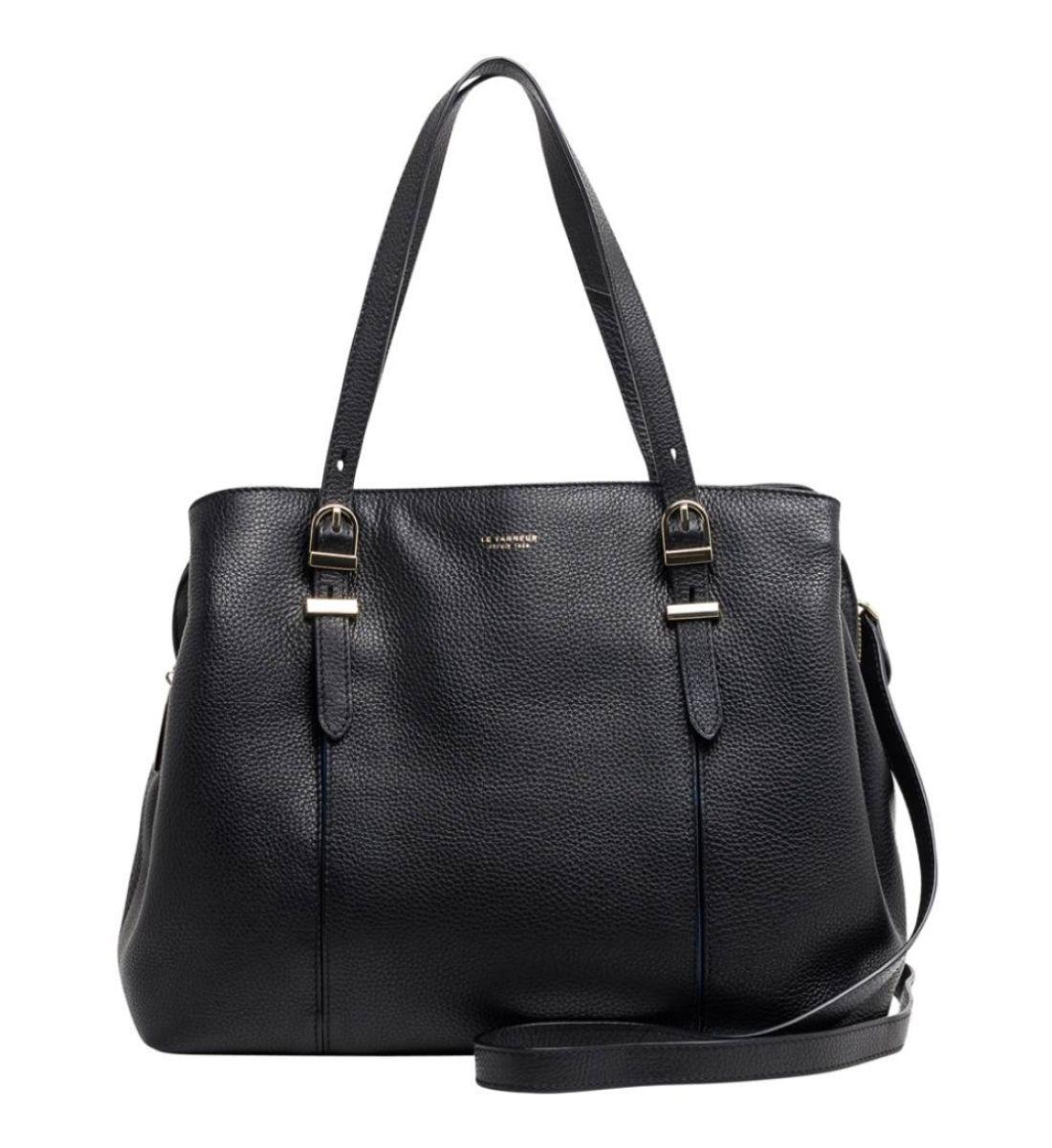 Sac Cabas Capucine Le Tanneur Noir Galeries Lafayette Bags Duffle Bag Duffle