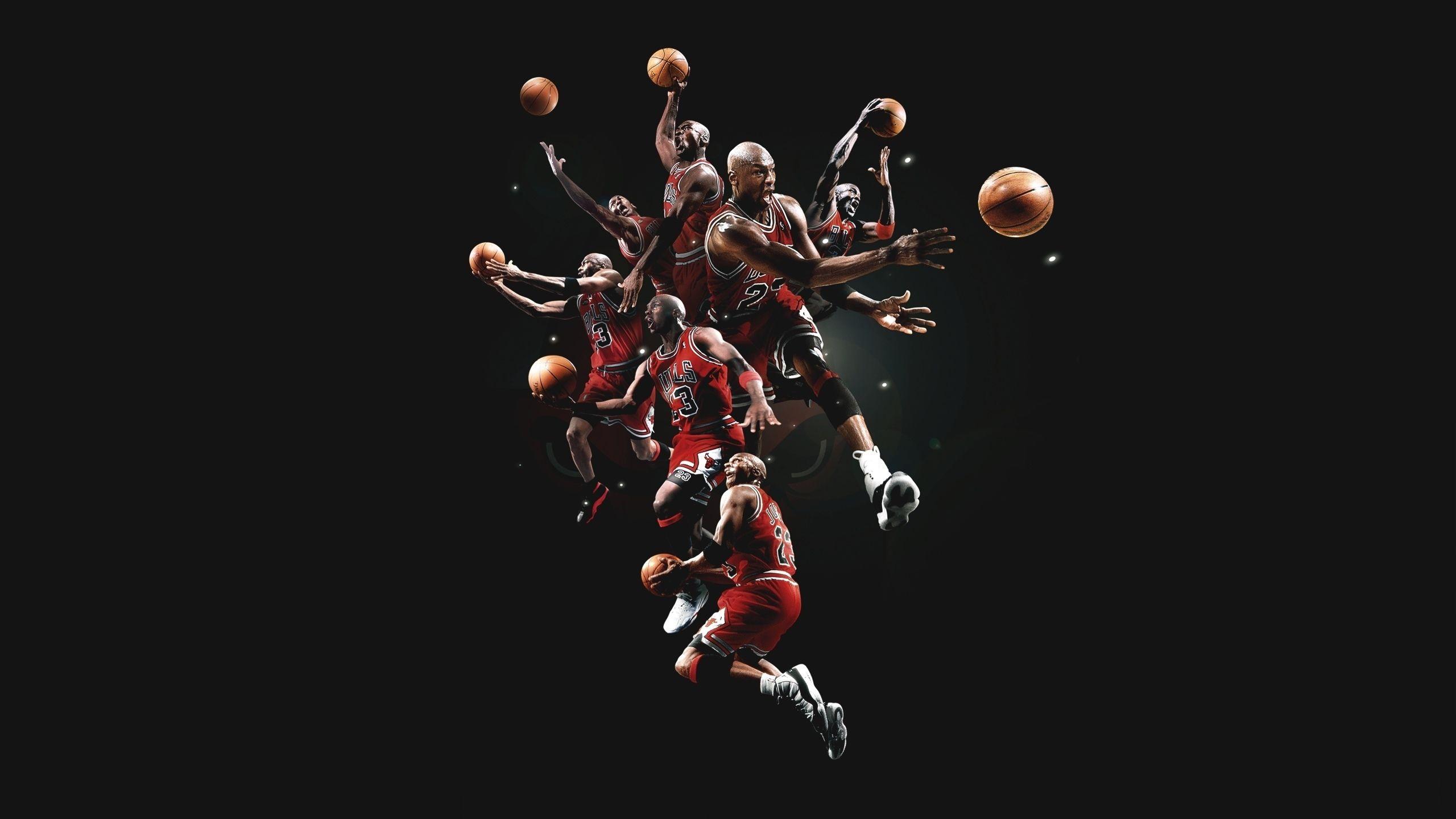 Michael Jordan Basketball Chicago Bulls Men Males Action Stop Motion Wallpaper