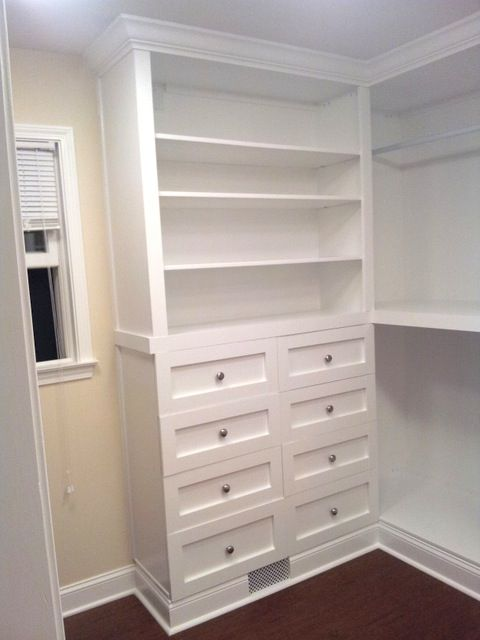 Great tips for master closet built ins how tos for drawer shelves etc