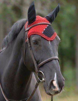 orejeras para caballos en crochet - Buscar con Google