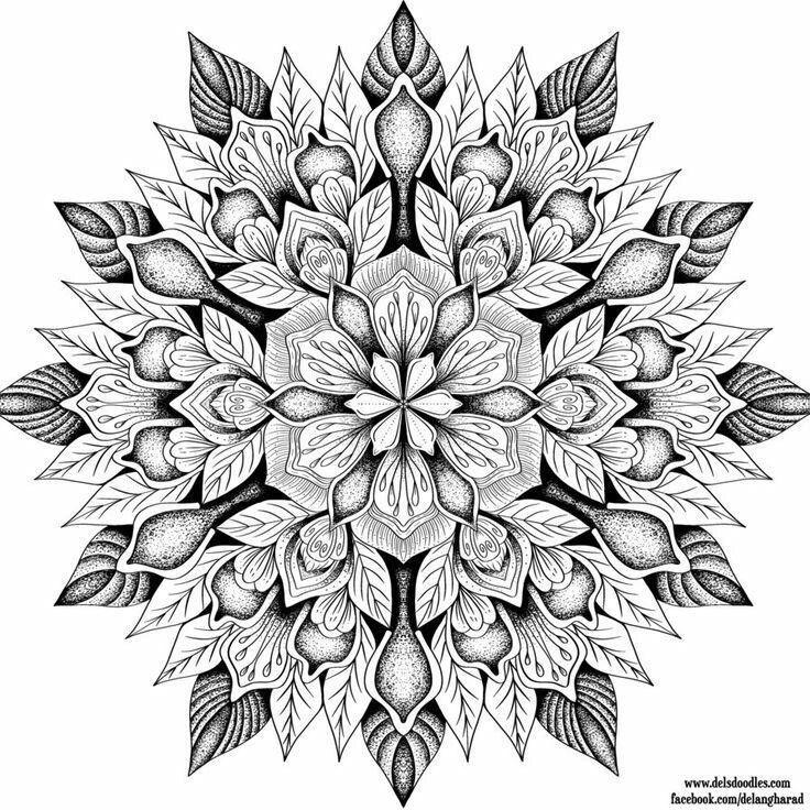 Антистресс раскраски для взрослых. Арт-терапия | Mandala ...