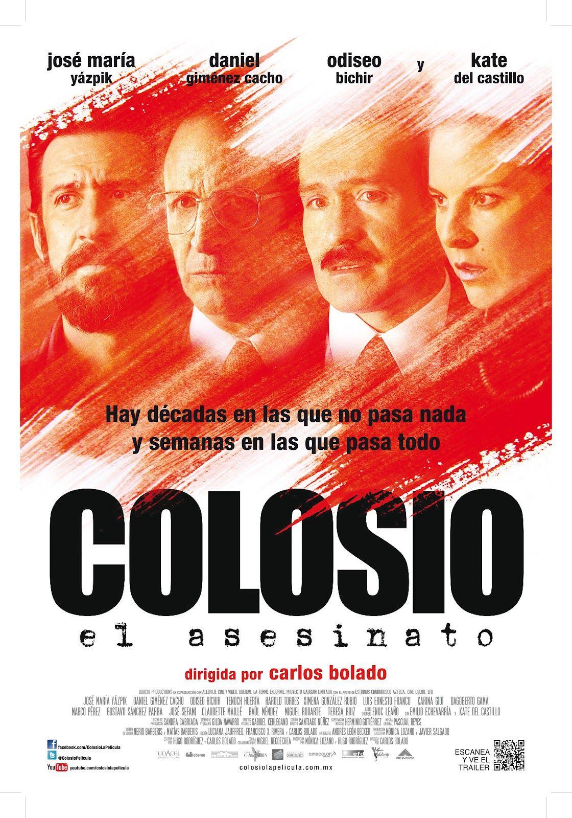 Coloso: Tenoch Huerta, Gustavo Sánchez Parra, Teresa Ruíz