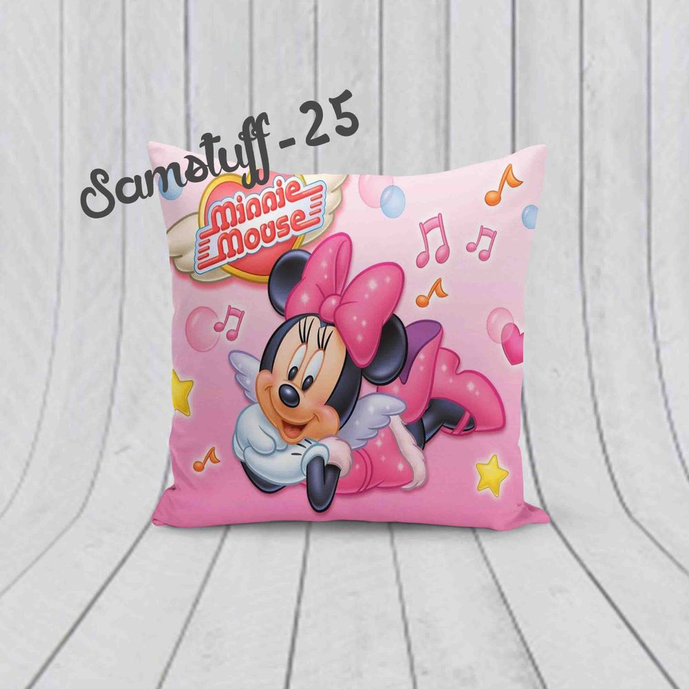 Minnie mouse cute pink custom design for pillow case