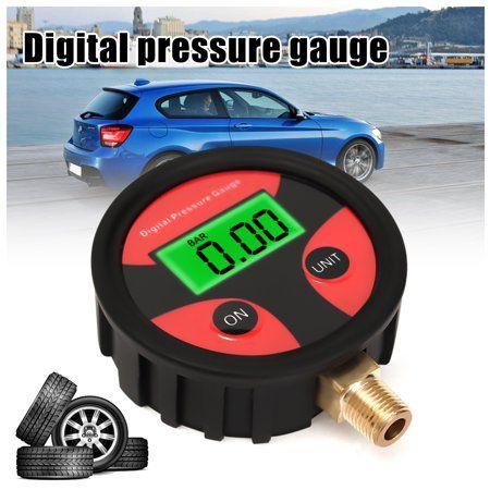 Tire Air Pressure Gauge 0-200PSI Car Truck Bike Auto Car Tyre Dial Meter Tester - Walmart.com