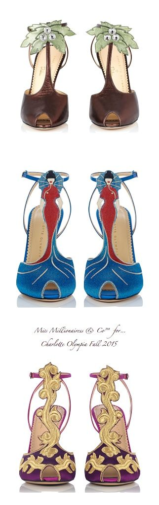 Charlotte Olympia ~ Launches Around the World Collection for Fall 2015