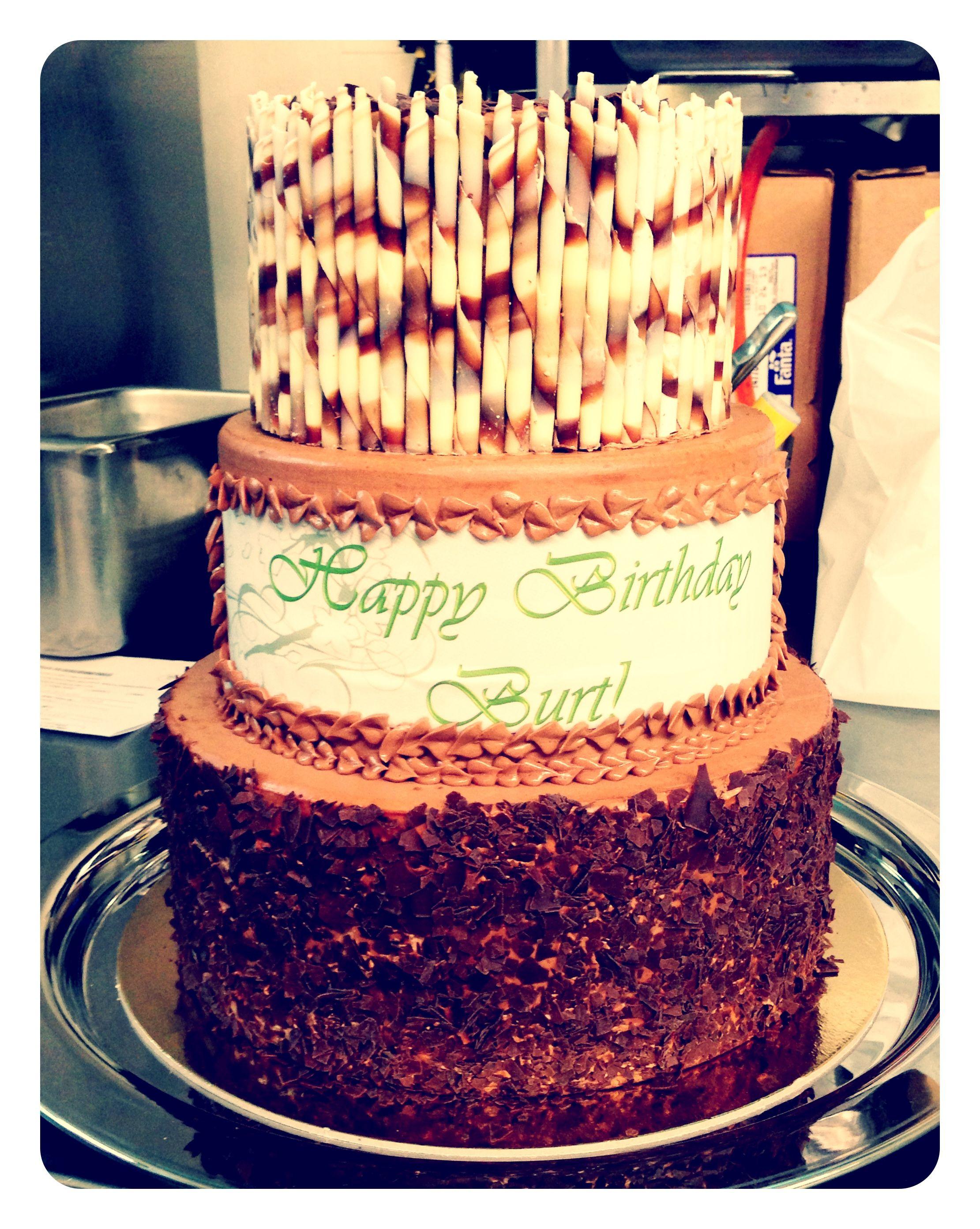 Barrymore birthday cake vanilla sponge, raspberry jam