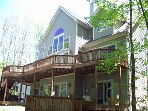 Oakland Md Usa 719 Laurel Cove Vacation Rental Vacation Home Waterfront Cottage