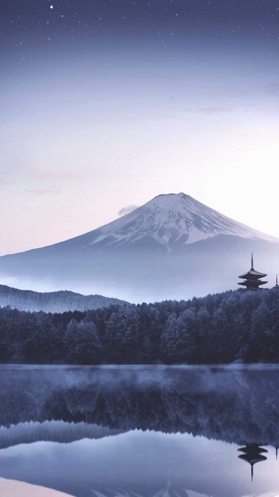 Japan Mount Fuji Morning Iphone Wallpaper In 2020 Iphone Wallpaper Japan Blue Wallpaper Iphone Cool Wallpapers For Phones