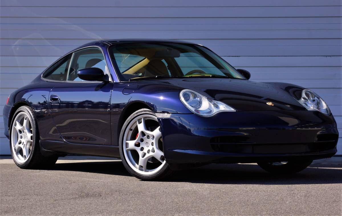 Midnight Blue 43k Mile 03 Porsche 996 Carrera 6sp Firstflatsix Porsche Carrera Porsche 996 Turbo
