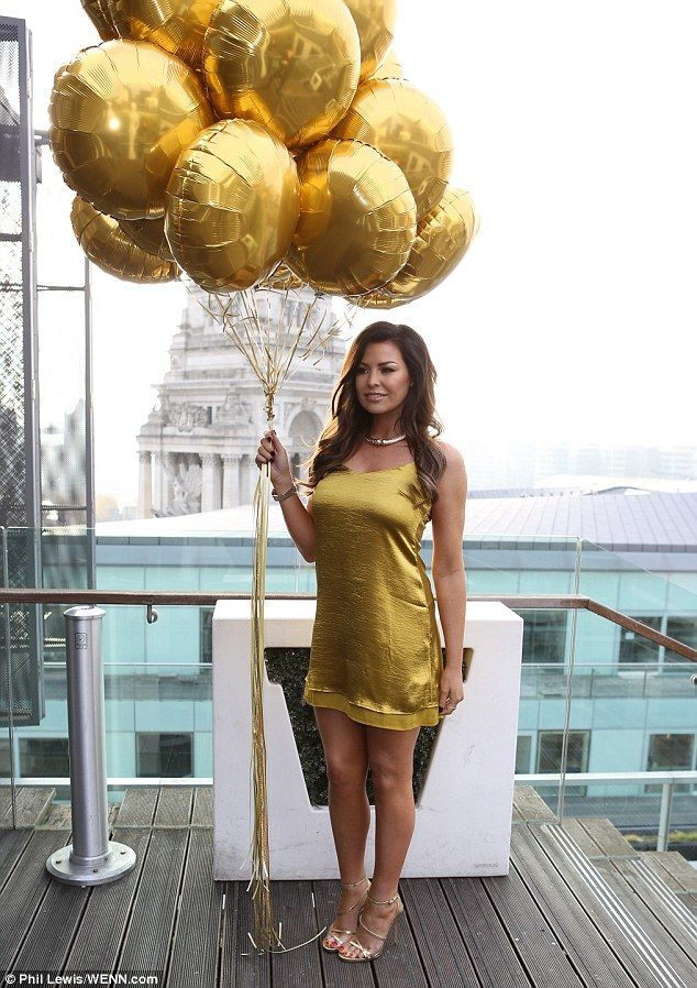 Sexy girls with mylar balloons