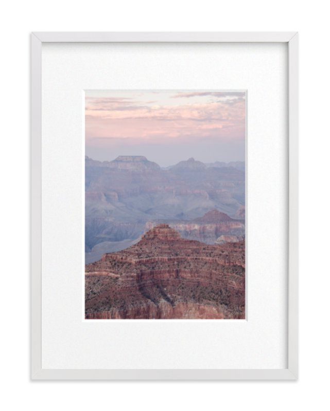 Grand Canyon Blush Photography Limited Edition Art Print By