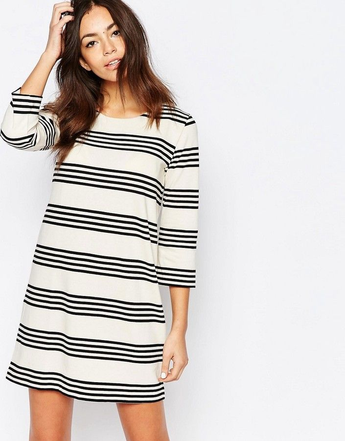 Esprit Stripe Shift Dress