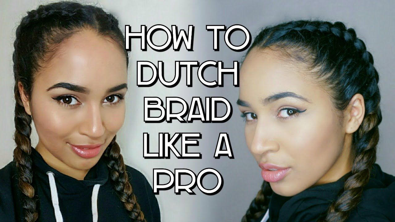 How To Inverted French Braid Dutch Braid Boxer Braid Tutorial Lana Summer Boxer Braids Tutorial Braiding Your Own Hair Inverted French Braid