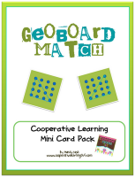 Cooperative Learning 365: Geo Board Match