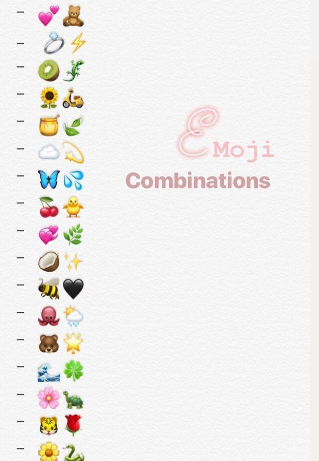 Aesthetic Emojis Combinations Snapchat Aesthetic Emojis Combinations In 2020 Emoji Combinations Instagram Emoji Cute Emoji Combinations
