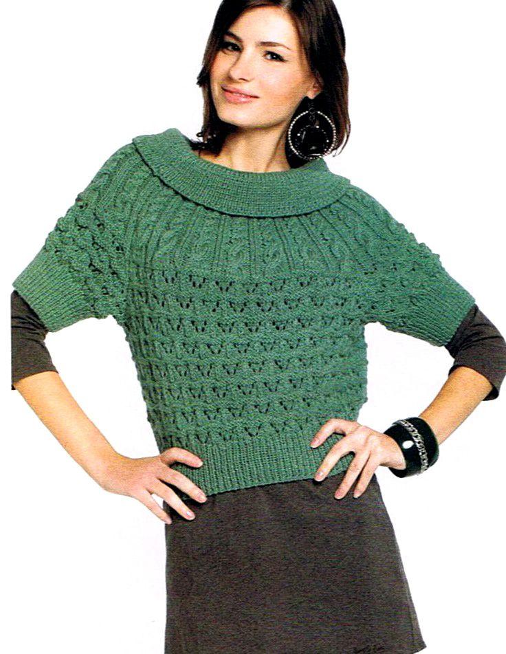 Sueter | sueters y chaquetas punto | Pinterest | Suéteres, Chaquetas ...