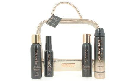 #Kit da viaggio con 4 prodotti per capelli  ad Euro 29.99 in #Groupon #Shopping