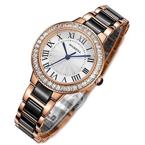 MAMONA Women's Quartz Watch Crystal Accented Ceramic and ... https://www.amazon.com/dp/B01I106PH2/ref=cm_sw_r_pi_dp_x_gI1Ayb00YHW36